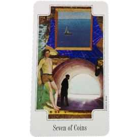 Transformation Tarot - 7 de deniers