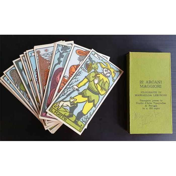 Tarot de Mariaelise LEBORONI - 22 arcanes majeurs
