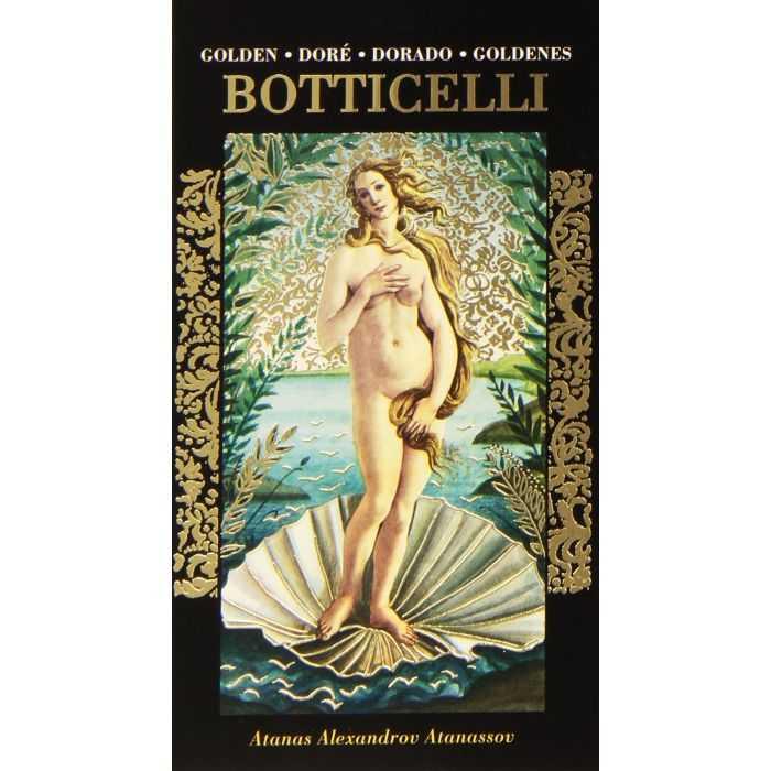 Tarot doré Botticelli - Atanas Alexandrov Atanassov