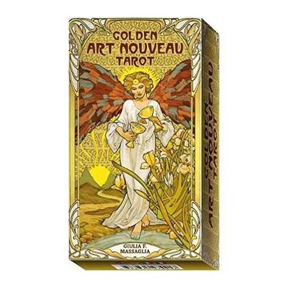 Tarot Golden Art Nouveau - exemplaire de démonstration