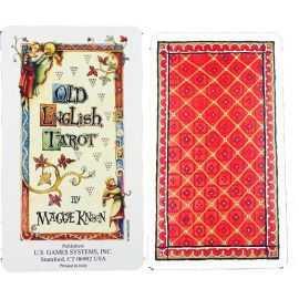 Tarot Old English - exemplaire de démonstration
