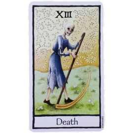 Tarot Old English - La Mort