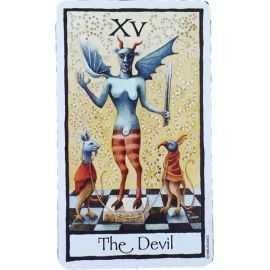 Tarot Old English - Le Diable
