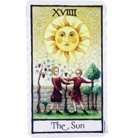 Tarot Old English - Le Soleil