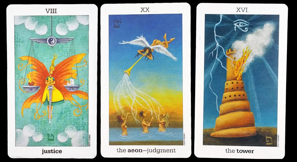 Sun and Moon Tarot - Tirage 1