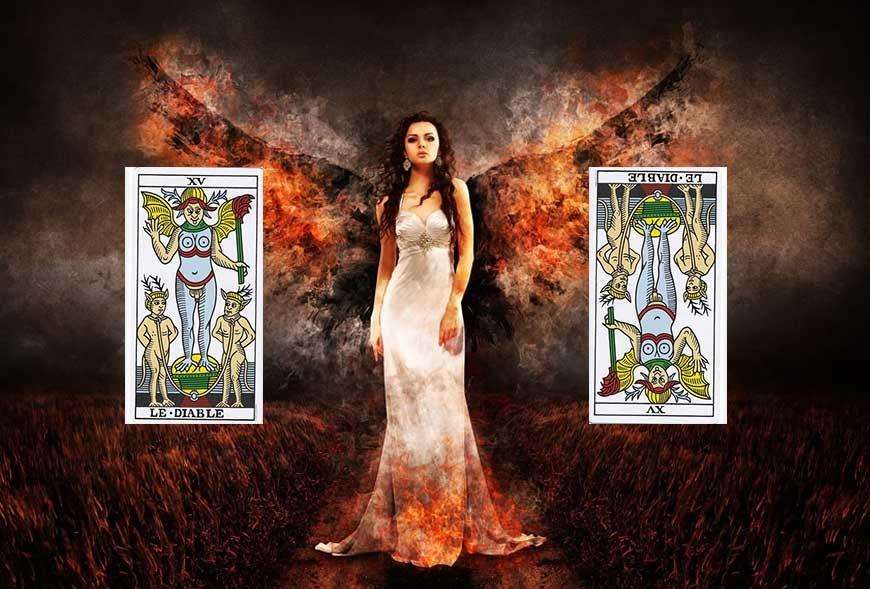 Va-t-on vraiment en Enfer si on lit les cartes renversées ?