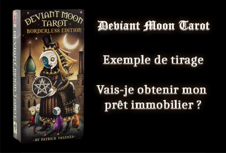 Tarot Deviant Moon - exemple de tirage
